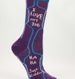 Blue Q Blue Q Womens Socks Love My Job