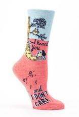 Blue Q Blue Q Womens Socks I Heard You
