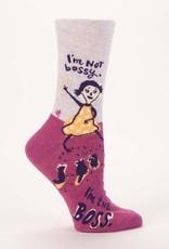 Blue Q Blue Q Womens Socks Im Not Bossy