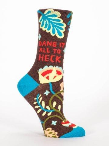Blue Q Blue Q Womens Socks Dang It
