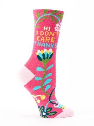 Blue Q Blue Q Womens Socks Don't Care