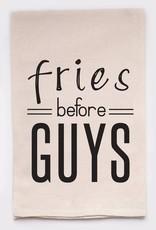 Ellembee Fries Before Guys Tea Towel