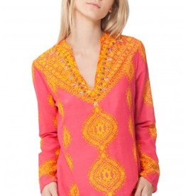 Hale Bob Hale Bob Milly Silk Beaded Tunic