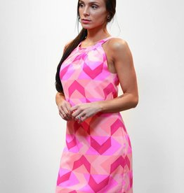 Britt Ryan Trapeze Dress Lava