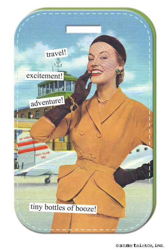 Anne Taintor Anne Taintor Luggage Tag