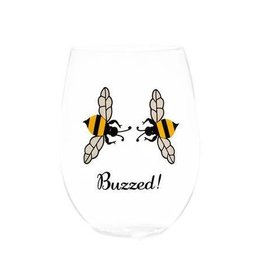 August Morgan Buzzed Wine Glasses Set of 4