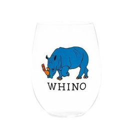 August Morgan August Morgan Whino Wine Glasses Set of 4