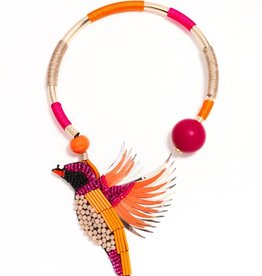 Jewelry Bird of Paradise Necklace