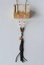 Kellie Montana Beads/Tassel Necklace