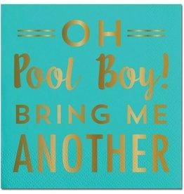 Slant Pool Boy Napkins 20CT