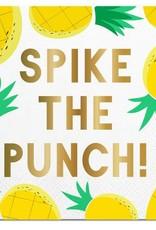 Slant Spike the Punch Napkins 20CT
