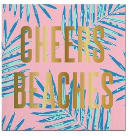 Slant Cheers Beaches Napkins 20CT