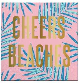 Slant Cheers Beaches Napkins 20CT