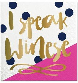 Slant I Speak Winese Napkins 20CT
