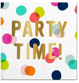 Slant Party Time Napkins 20CT