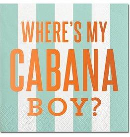 Slant Cabana Boy Napkins 20CT
