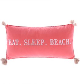 Levtex Eat Sleep Beach Pillow