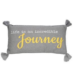 Levtex Life is a Journey Pillow
