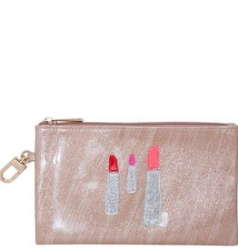 Lolo Lipstick Cosmetic Bag with Mirror