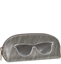 Lolo Silver Shades Sunglass Case