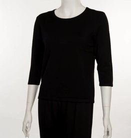 Erin London Crew Neck Black