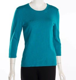 Erin London Crew Neck Teal