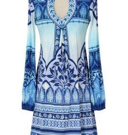 Hale Bob Raiyana Dress Blue
