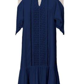 Hale Bob Tanea Cold Shoulder Dress