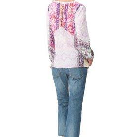 Hale Bob Marae Silk Tunic Pink