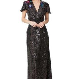 Hale Bob Naiva Sequin Bird Dress