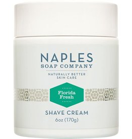 Naples Soap Company Florida Fresh Shave Cream