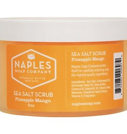 Naples Soap Company Pineapple Mango Sea Salt Scrub