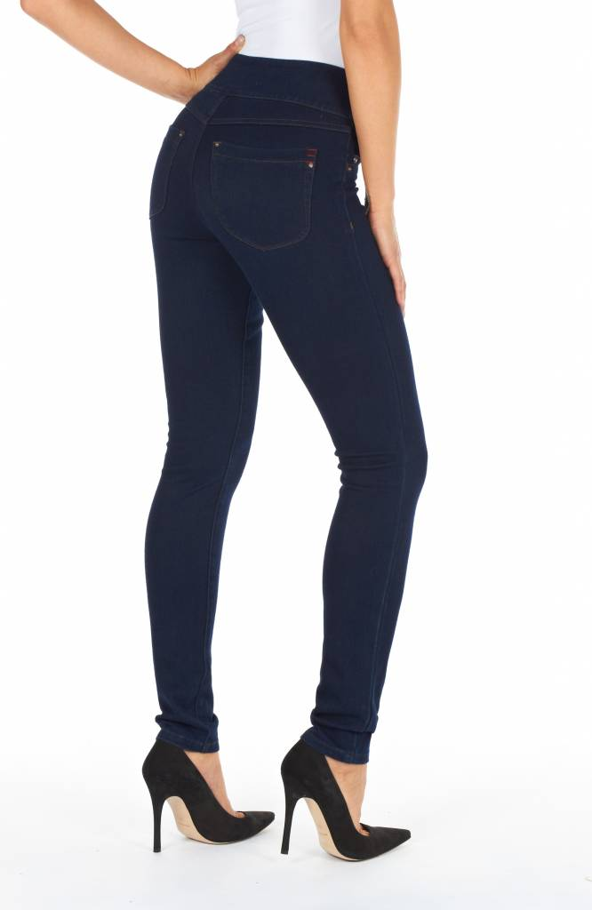 French Dressing Pull On Slim Jegging Indigo
