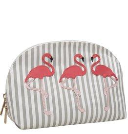 Lolo Large Molly Case Flamingos