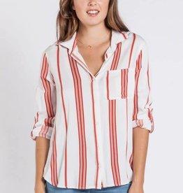 Velvet Heart Elisa Shirt Red Stripe