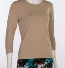 Erin London Erin London Crew Neck Khaki