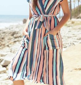 Lost and Wander Stripe Dress