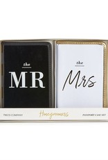 Two's Company Mr & Mrs Passport Set