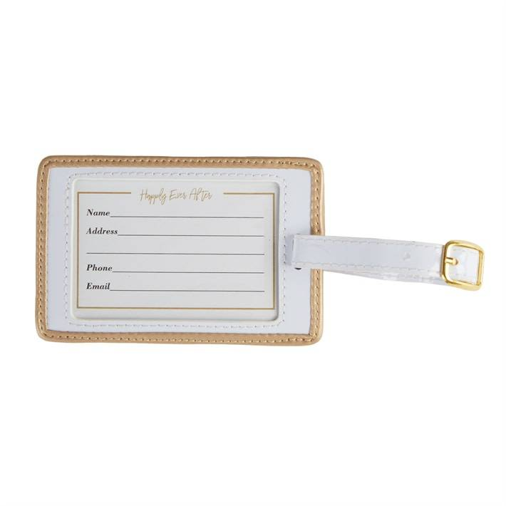 Two's Company Mr & Mrs Luggage Tag Set