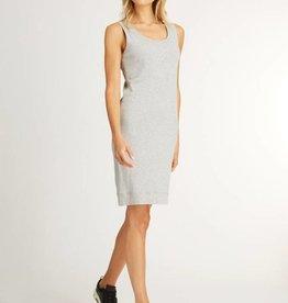 Indigenous Indigenous Double Layer Tank Dress Silver