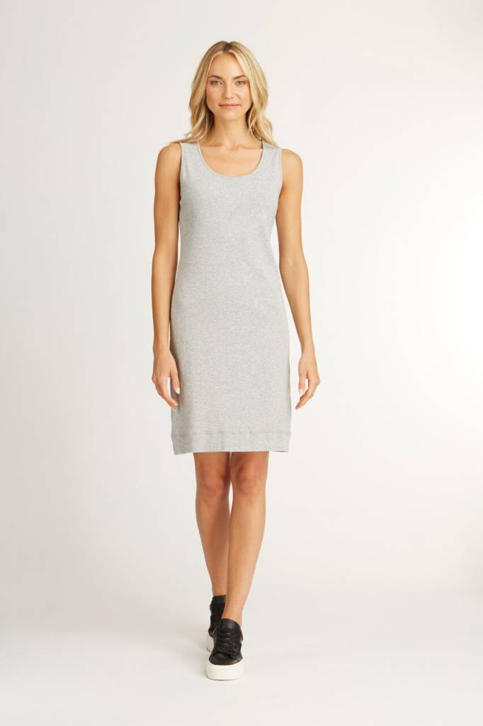 Indigenous Double Layer Tank Dress Silver
