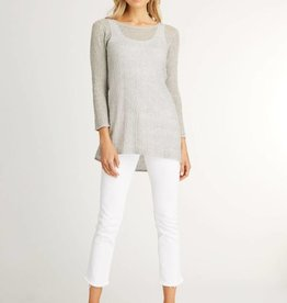 Indigenous Indigenous Sheer Pullover Silver