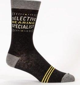 Blue Q Mens Sock Selective Hearing