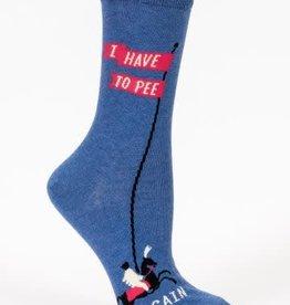 Blue Q Blue Q Womens Sock Have to Pee