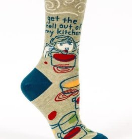 Blue Q Womens Sock Kitchen