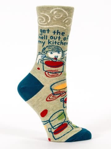 Blue Q Blue Q Womens Sock Kitchen