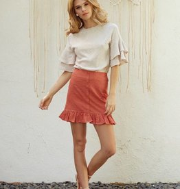 Lost and Wander Lost and Wander Ruffle Top