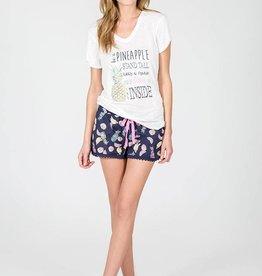 PJ Salvage Pineapple Short