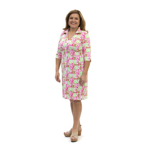Katherine Way Nola Dress Mai Tai