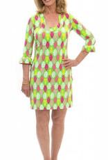 Katherine Way Naples Dress Pineapple